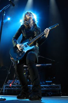 "Nancy Wilson--This Classic Rock Lady Has Led The Best Female Rock Group Of All Time For Well Over 35 Years...Think, ""Crazy On You""--That's Nancy Striking Those Licks!!  In Her 60's, Into the Hall of Fame She Goes In 2013..."