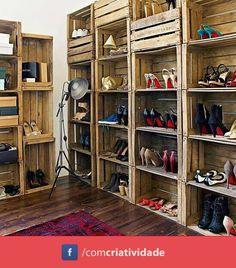Armario con palets // Wardrobe with pallets
