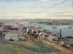 Sydney in the 1850s