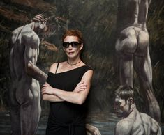 Kristýna Frejová neměla problém ani s focením se zajímavým pozadím