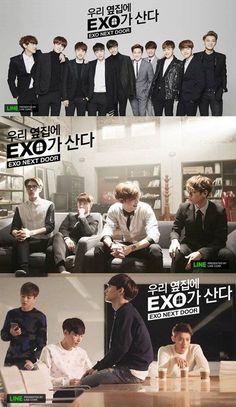 EXO to put their acting skills to the test through mini series 'EXO NEXT DOOR' in April | allkpop