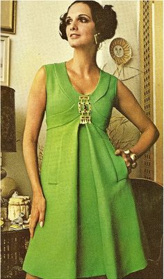 Donald Brooks in Vogue 1970...OMG..my senior prom dress was made by iconic designer Donald Brooks....