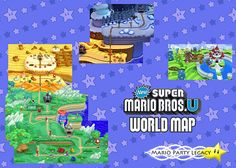 Super Mario World - Map Overview: In this map, each \