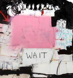 "Saatchi Art Artist Taylor White; Painting, ""WAIT"" #art"