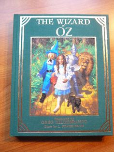 Wizard of OZ . Hardcover.  1985 first  printing
