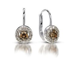Le Vian chocolate diamond drop earrings.