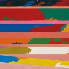 "7,416 Likes, 19 Comments - Art Basel (@artbasel) on Instagram: ""#PieroDorazio, 'Sub Gratia,' 1969, oil painting on canvas via @MazzoleniArt | Galleries 2017…"""