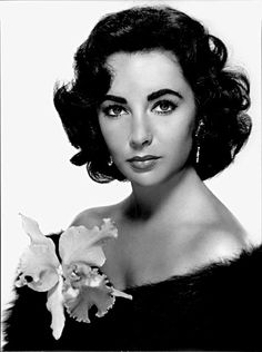 Wedding Hairstyle Inspiration: Iconic Vintage Hairstyles – Part 1:  Elizabeth Taylor: Dark 50s Waves
