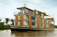 Luxury Floating Hotel travels the Amazon River