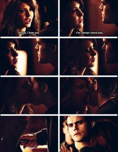 I never. Ever. Ever thought it would be Stefan that killed Katherine.