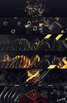 cui ge on Behance Stage Design, Event Design, 3d Design, Graphic Design, Youtube Banner Backgrounds, Header Design, Youtube Channel Art, Motion Design, Banner Design