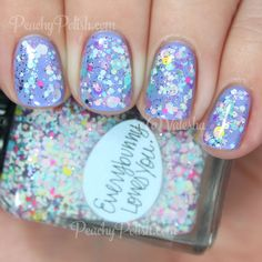 Brand: Lynnderella // Collection: Spring Things (2015) // Color: Everybunny Loves You // Blog: Peachy Polish