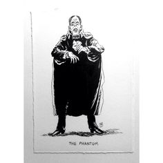 Playing catch up after my trip. :) Inktober- day eighteen the baddies of B&W movies- The Phantom Of The Opera For sale here. http://ift.tt/1McJcy0 $30 US $35 US outside North America. Proceeds minus shipping costs will go to the Hero Initiative an organization created to help cartoonists in need during difficult times. Thanks everybody. :) #inktober2015 #troynixey #micron #blackandwhite #illustration #cartooning #thephantomoftheopera #lonchaney #inktober by troynixey