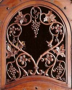 The flowers in this carving are the same flowers the owners adult daughter pciked as a child (piercced carving on both sides of glass