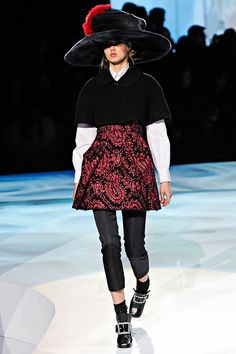 Marc Jacobs Fall/Winter 2012 collection.