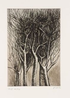 Henry Moore OM, CH 'Trees II Upright Branches', 1979 © The Henry Moore Foundation. All Rights Reserved