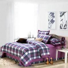 Purple College Dorm Room Bedding Sets [100601300012] - $149.99 : Colorful Mart, All for Enjoyment