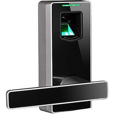 Take a look at this very useful uGuardian Biometric Door Lock. A reversible handle design will fit all open door directions. This door lock gives you the power to control who has access to your home o