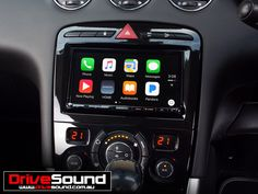 Peugeot 308 with Apple CarPlay installed by DriveSound.