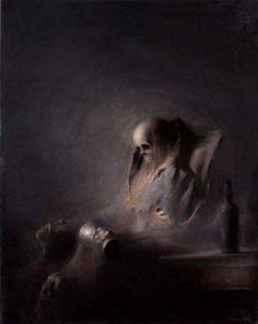 Título: El pensador (la obra la he bautizado yo). | Autor: (Desconocido).