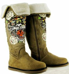 Ed Hardy Women's Snowblazer Stones Boots Boot - Click picture for Description and other picture! $81.99 from Amazon
