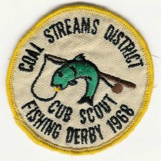 fishing derby Clothing Studio, Vintage Patches, Patch Design, Vintage Fishing, Vintage Designs, Derby, Shirt Designs, Hunting, Typography