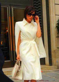 Victoria Beckham style #celebrity #style #fashion
