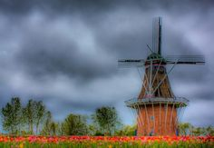 Old Windmills | Holland old fashioned windmill | PICZLoad