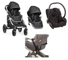 cf5fef5b7a6c Baby Jogger City Select Double Stroller with Maxi Cosi AP Car Seat Travel  System