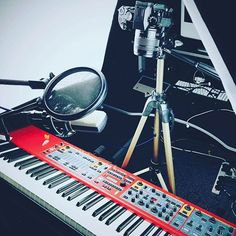 Shooting some quick fire tutorials for @nordkeyboards range. Videos coming very soon!! #nord #iseenord #keyboard #tutorial #nordkeyboards #howto #video #music #musicians #soundtechuk #soundtechnology