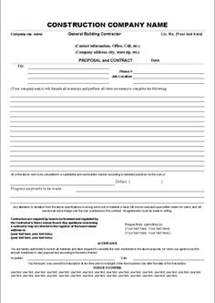 Contract Proposal Template Free Download Roommate Agreement Template 05  My Style  Pinterest .