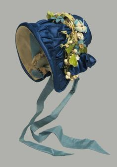 French bonnet, about 1840
