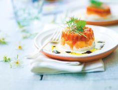 Duo de #saumon confit et #fromage frais