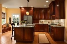 Kitchen Master - Cabinets, Design, Remodeling, We sell Kraftmaid, Merillat, and Starmark, Cabinetry.