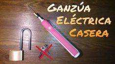 GANZÚA ELÉCTRICA CASERA DIY. ¡¡ABRE CERRADURAS EN SEGUNDOS!!
