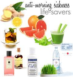 anti-morning sickness life-savers #pregnancy #health #morningsickness