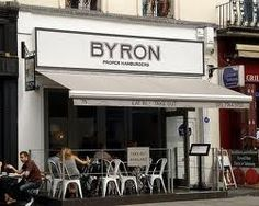 Byron Burger - a number of locations in London and some of the best burgers in London.