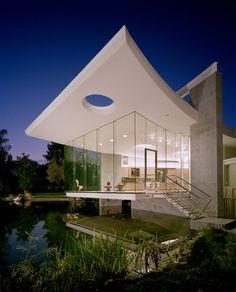 Lakeside Studio by Mark Dziewulski Architect
