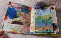Gabriel Langfeldt-Feldmann - Art Journal with Friends | Unruly PaperArts