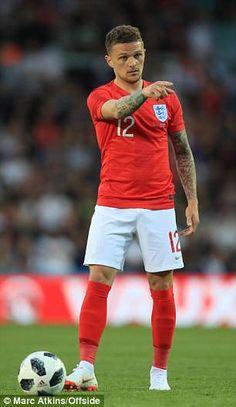 Kieran Trippier playing for England at Elland Road in 2018 England Football Players, England Players, England World Cup 2018, Football Hairstyles, Kieran Trippier, England National Team, Russia 2018, Tottenham Hotspur Fc, Football Is Life