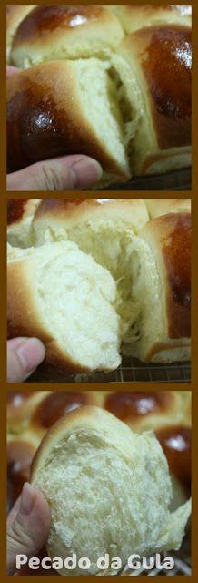 PECADO DA GULA: Pão de Batata do Rafael Barros