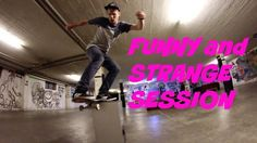 Funny and Strange SKATEBOARD session with a SUBWOOFER - http://dailyskatetube.com/switzerland/funny-and-strange-skateboard-session-with-a-subwoofer/ - http://www.youtube.com/watch?v=mYnUflDWhnc&feature=youtube_gdata  That's the reason why i'm doing all the hard work with all my YouTube videos. It's all about fun!!! This unusual session was just too funny. What's the next funny thing you want me to skate?...