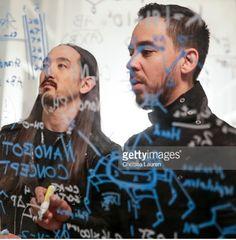 Mike shinoda and Steve Aoki