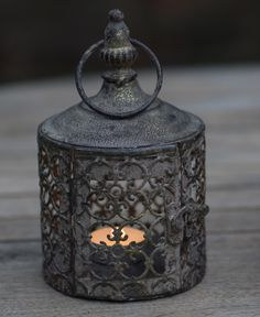 Set of 3 Little Lattice Moroccan Style Candle Lanterns - Home & Garden Moroccan Garden, Moroccan Lamp, Moroccan Lanterns, Moroccan Style, Lanterns Decor, Candle Lanterns, Beautiful Candles, Light Project, Glass Candle Holders