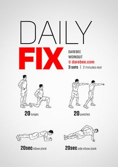 Daily Fix Workout | Posted By: CustomWeightLossProgram.com