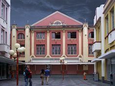 Cine Theatro Central, Art Deco building, Juiz de Fora, Brazil