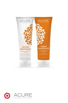 Lasting moisture for even the most dry and damaged hair leaving it soft, smooth and manageable. Sulfate-free + color safe shampoo and conditioner from @acureorganics...Organic Argan Oil and Sea Buckthorn Oil hydrate and smooth as Argan Stem Cells + Pumpkin Seed Oil boost healthy hair growth. All the while, CoQ10 supports healthy keratin production.