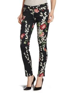 7 For All Mankind Women's The Slim Cigarette Jean, Black Cherry Blossom, 27 buy at http://www.amazon.com/dp/B008HTOD5E/?tag=bh67-20