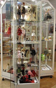Barbie Exhibit 2010 - Grubbebiblioteket | Part of my Barbie … | Flickr