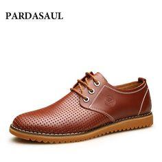 Cheap Alta calidad 2016 marca Summer Casual Men perforaron los zapatos planos atan para arriba cuero genuino zapatos para respirar Oxford zapatos grandes del tamaño, Compro Calidad Hombres de los zapatos ocasionales directamente de los surtidores de China:   [XLModel]-[foto]-[0000]   Lista de fotos                     [XLModel]-[Tamaño]-[9999]   Tabla del tamaño      Medida